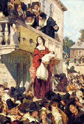an analysis of adultery and punishment in the scarlet letter Women recognize that her punishment stemmed in part from the town fathers' sexism, and they come to hester seeking shelter from the sexist forces under which they themselves suffer throughout the scarlet letter hester is portrayed as an intelligent, capable, but not necessarily extraordinary woman.